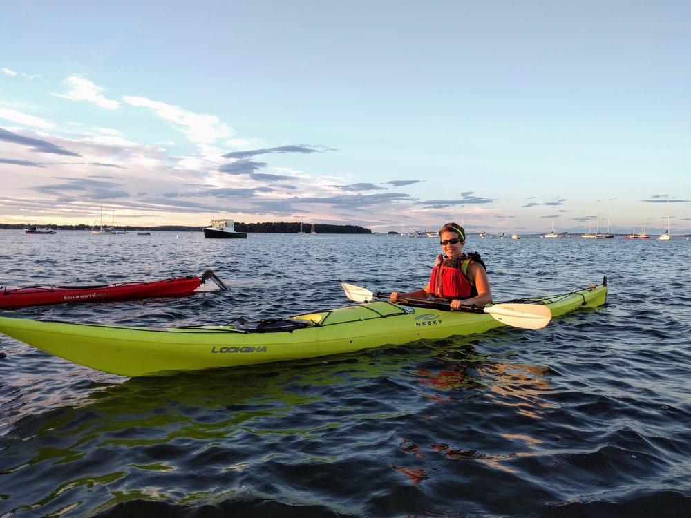 Sea kayak Tour in POrtland Harbor - 2 hours