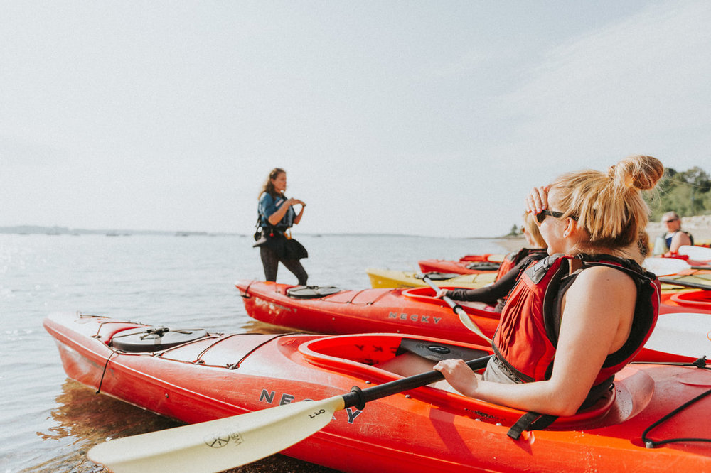 Kayak Tour at Crescent Beach State Park - 4 hours