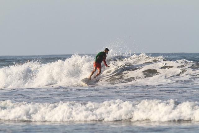 Scott has been shredding waves in Costa Rica