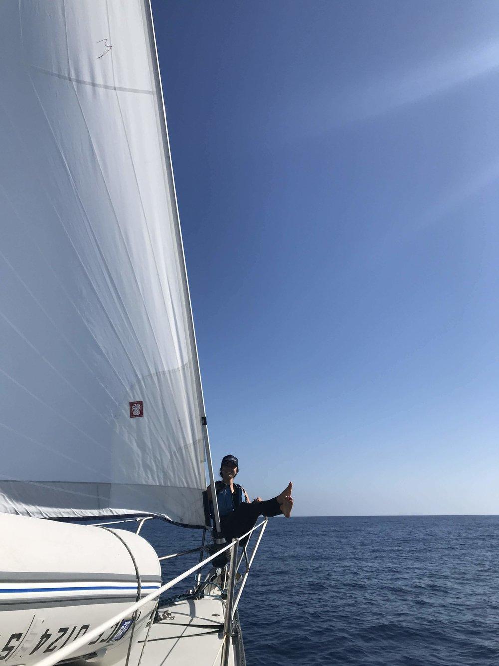 Dana has been sailing from San Francisco to Baja California