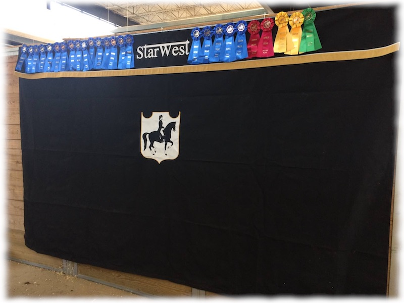 Some of the awards won by StarWest at the show