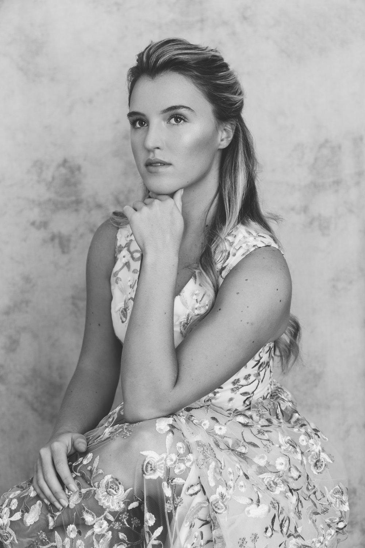 emma barrow portrait fashion beauty shoot studio plymouth