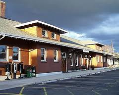 Eugene Amtrak Station