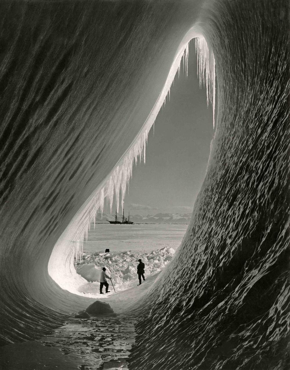 Foto Herbert G. Ponting, Antarctica, 1910-1912, collectie Nationaal Archief