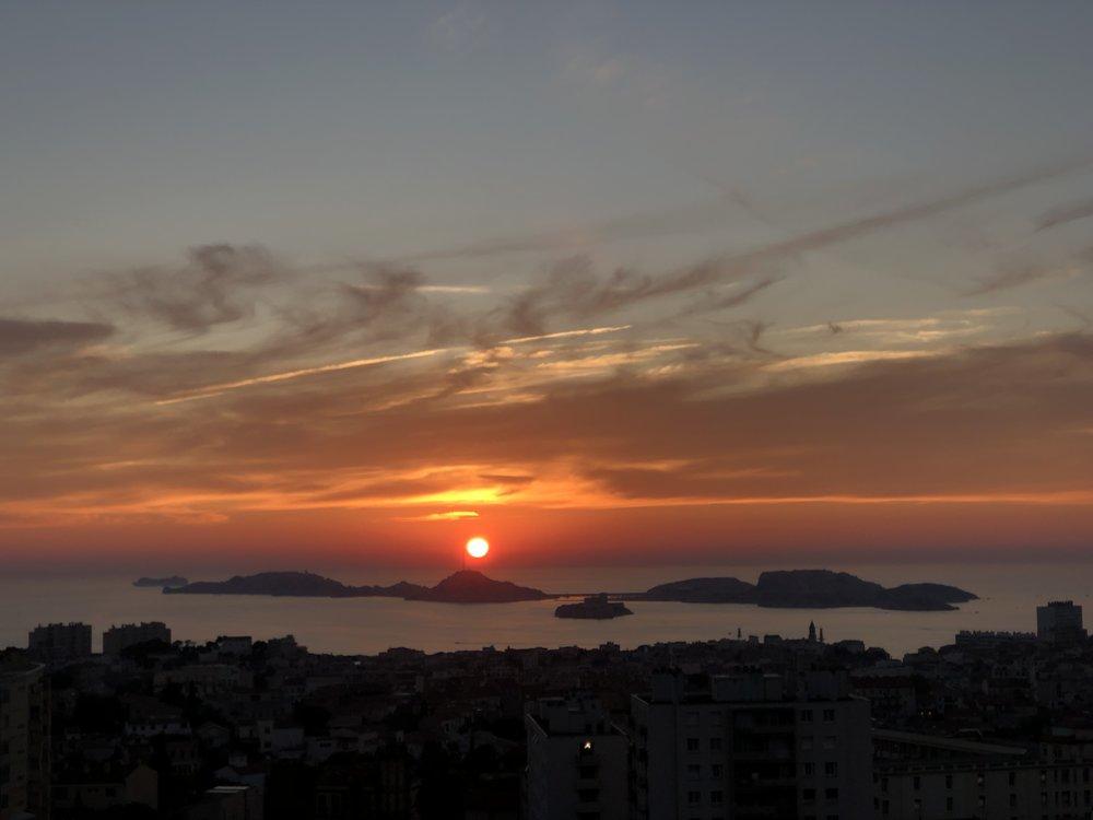 Weer zo'n schitterende zonsondergang....zucht...