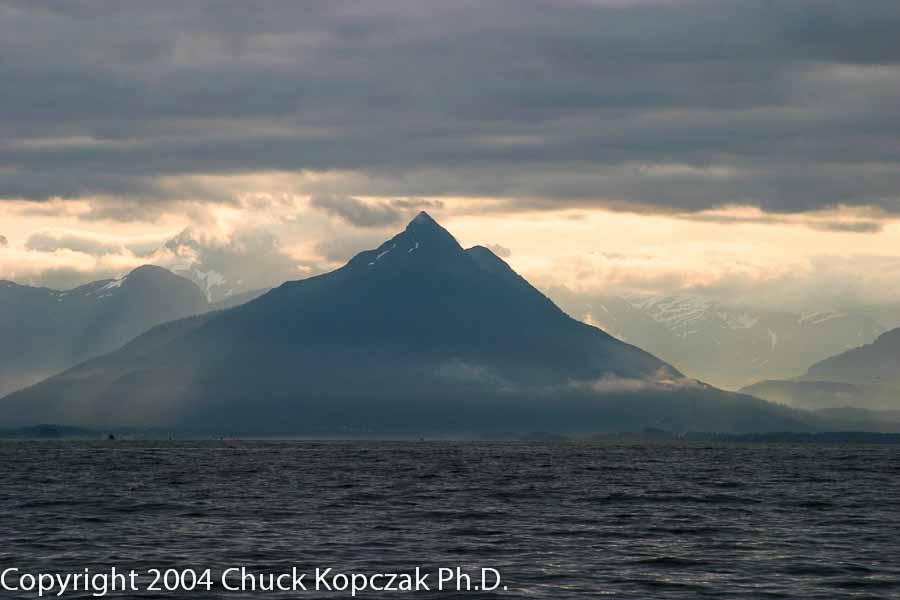 Sunrise over Sitka, Alaska