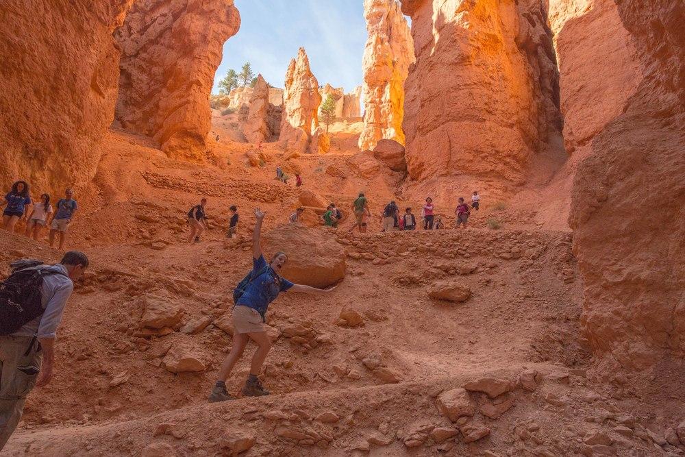 2013-07-09 Bryce Canyon Navajo Trail Steve & Rebecca 01.jpg
