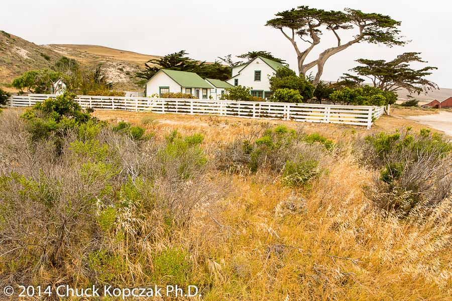Ranch house, Santa Rosa Island