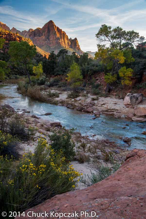 The Watchman and the Virgin II, Zion National Park