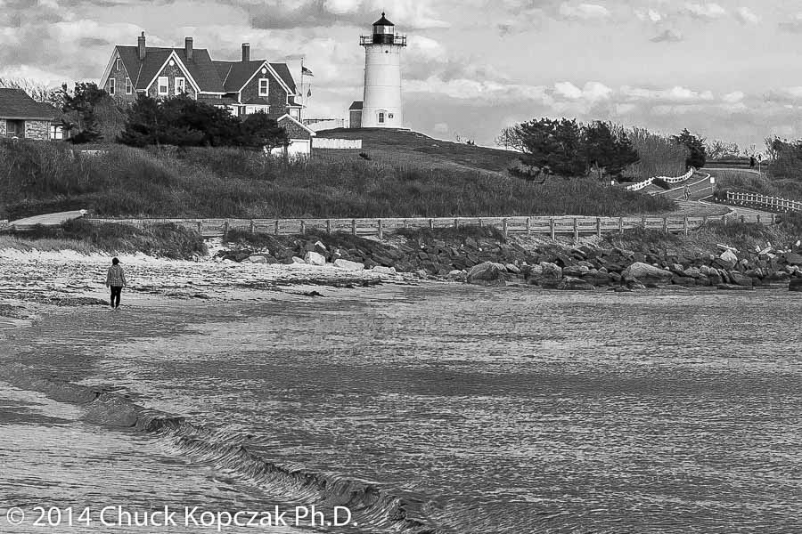 Nobska Point Light on the southwestern tip of Cape Cod.