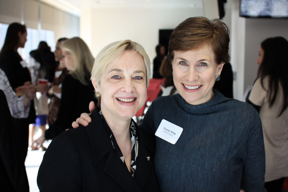 Lisa Church, President at eMarketer, and Cynnie King, President at CFW Careers