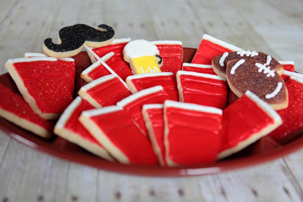 Superbowl cookies!
