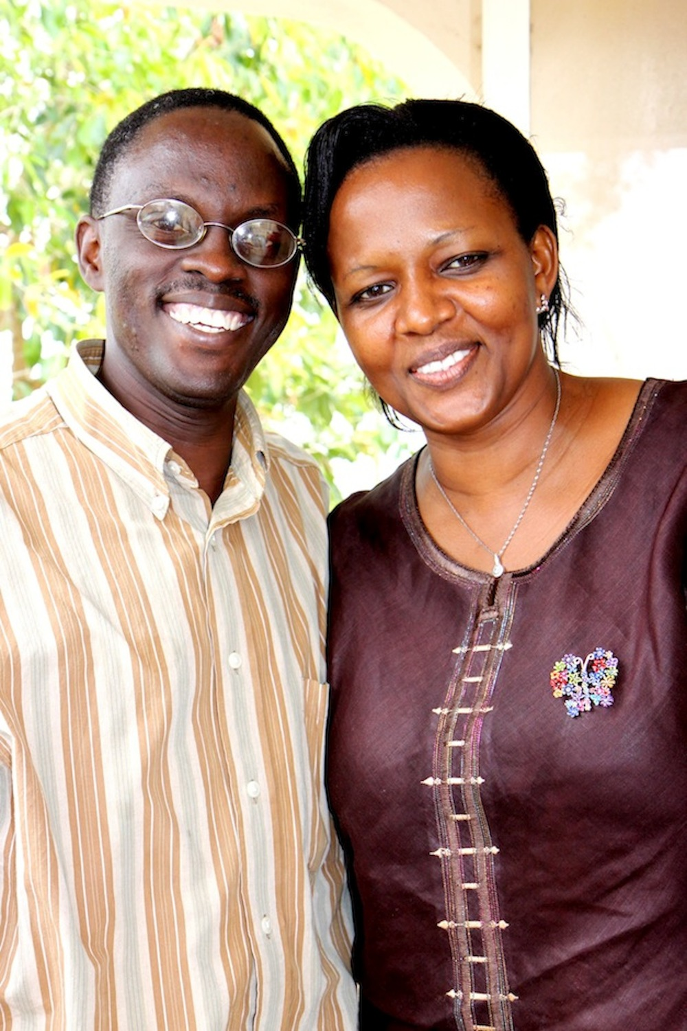 Pastors Peter and Phoebe Sozi