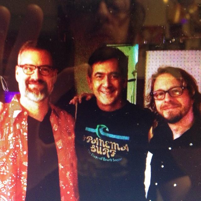 JOHN MOEN, TOMMY KEENE, CHRIS SLUSARENKO L.A. 2015