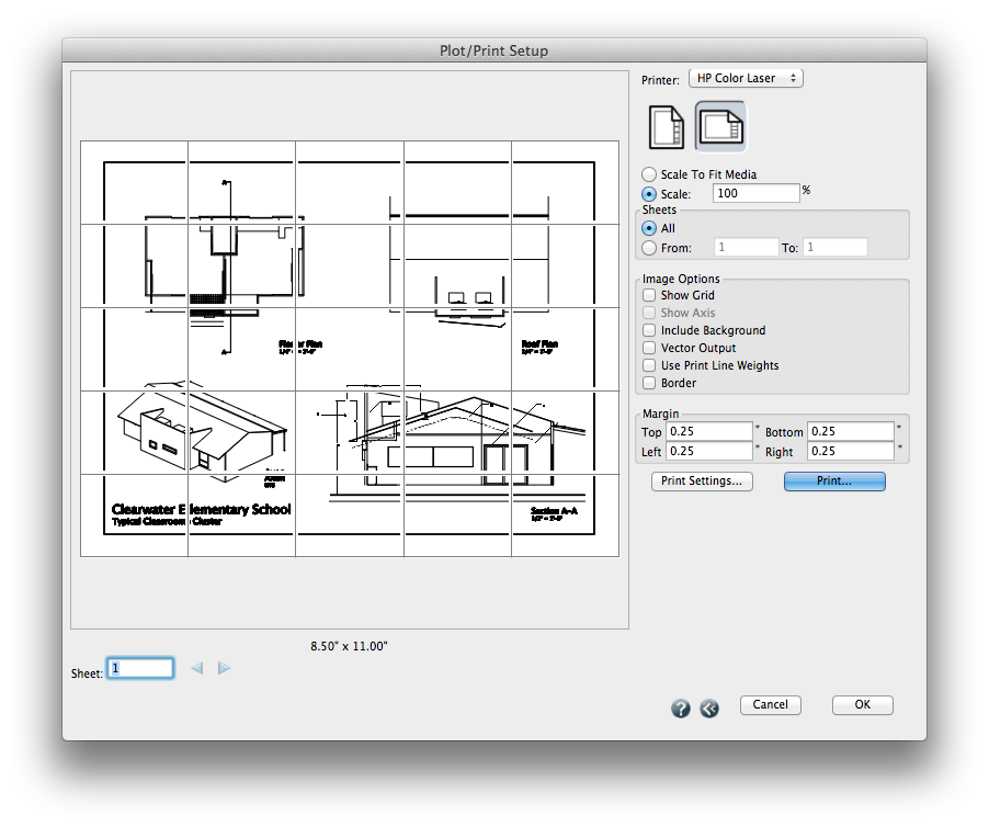 Best Home Design Software That Works For Macs: How To Print Large Format PDF Drawings To Scale On A Mac