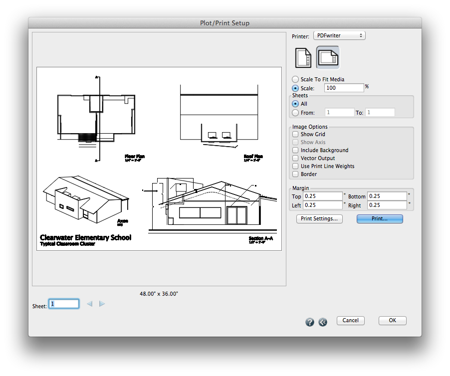 how to print large format pdf drawings to scale on a mac method every program works differently with scale so make sure the preview looks like you expect the final output to look here first malvernweather Choice Image