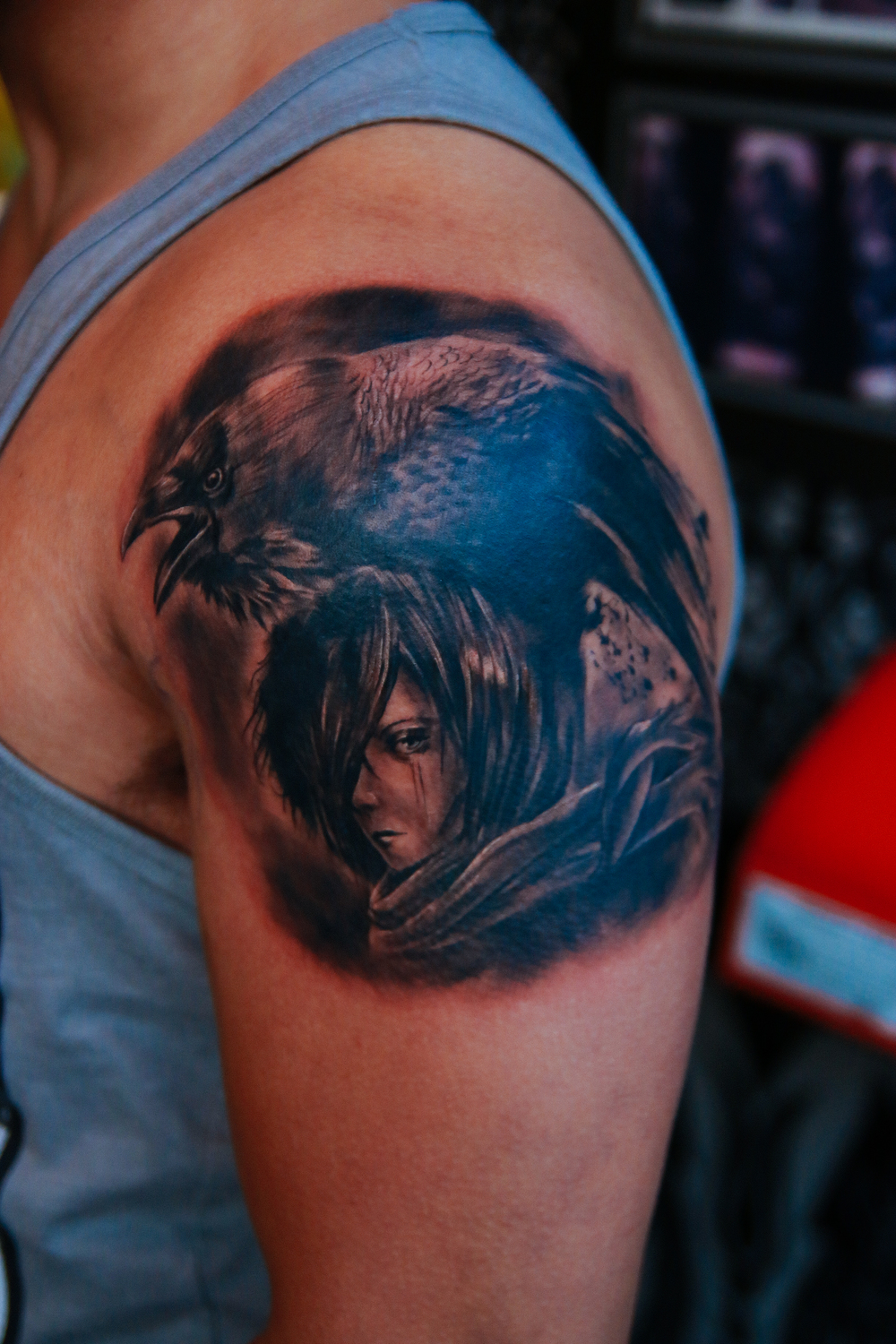 kwon-anime-tattoo-crow-freshly-inked.jpg