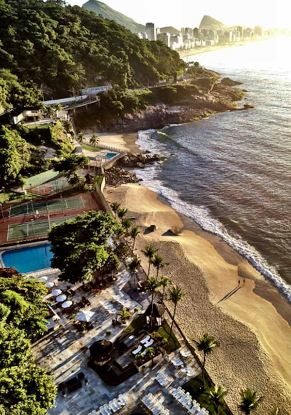 Sheraton Rio Beach and pools