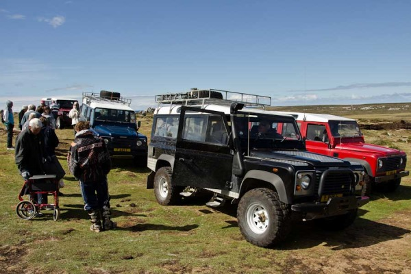 Our Land Rover caravan