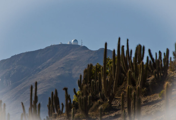 View of Tololo Observatory