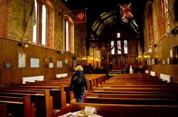 Inside Christ church Cathederal, Stanley, Falkland Islands
