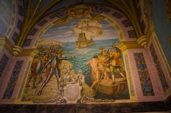 Pizarro's Chapel Mosaic in Lima Cathederal