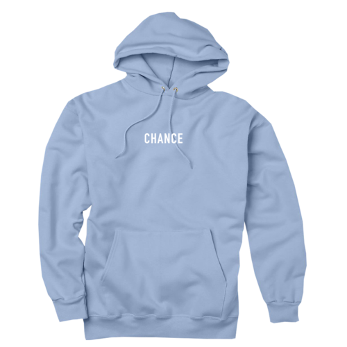 Chance 3 Hoodie (Light Blue) — Chance the Rapper