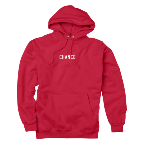 Chance 3 Hoodie Red Chance The Rapper