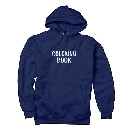 Coloring Book Hoodie Navy