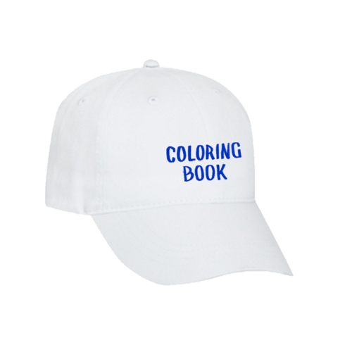 Coloring Book Hat White