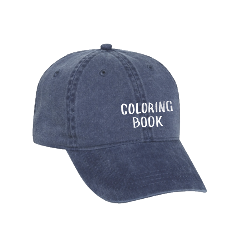 The coloring book vinyl - Cb Hat Blue Front Png