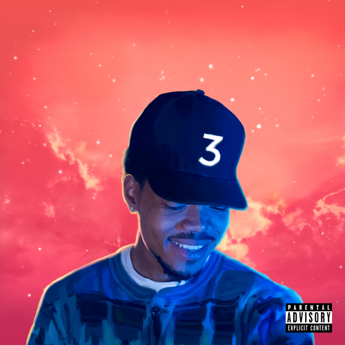 Coloring Book Poster Chance The Rapper