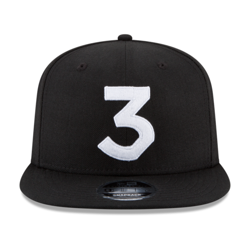5efb282d241a5 Chance 3 New Era Cap — Chance the Rapper