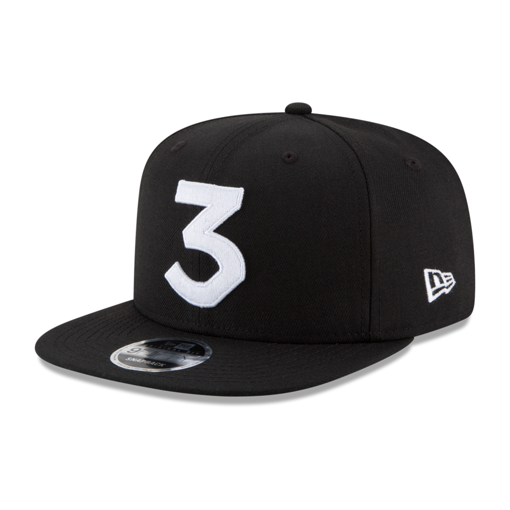 ff3ed9d6dc4 Chance 3 New Era Cap — Chance the Rapper