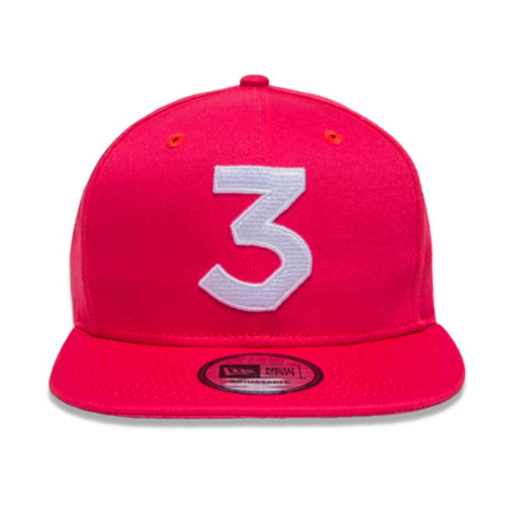 The coloring book vinyl - Chance 3 New Era Cap Salmon