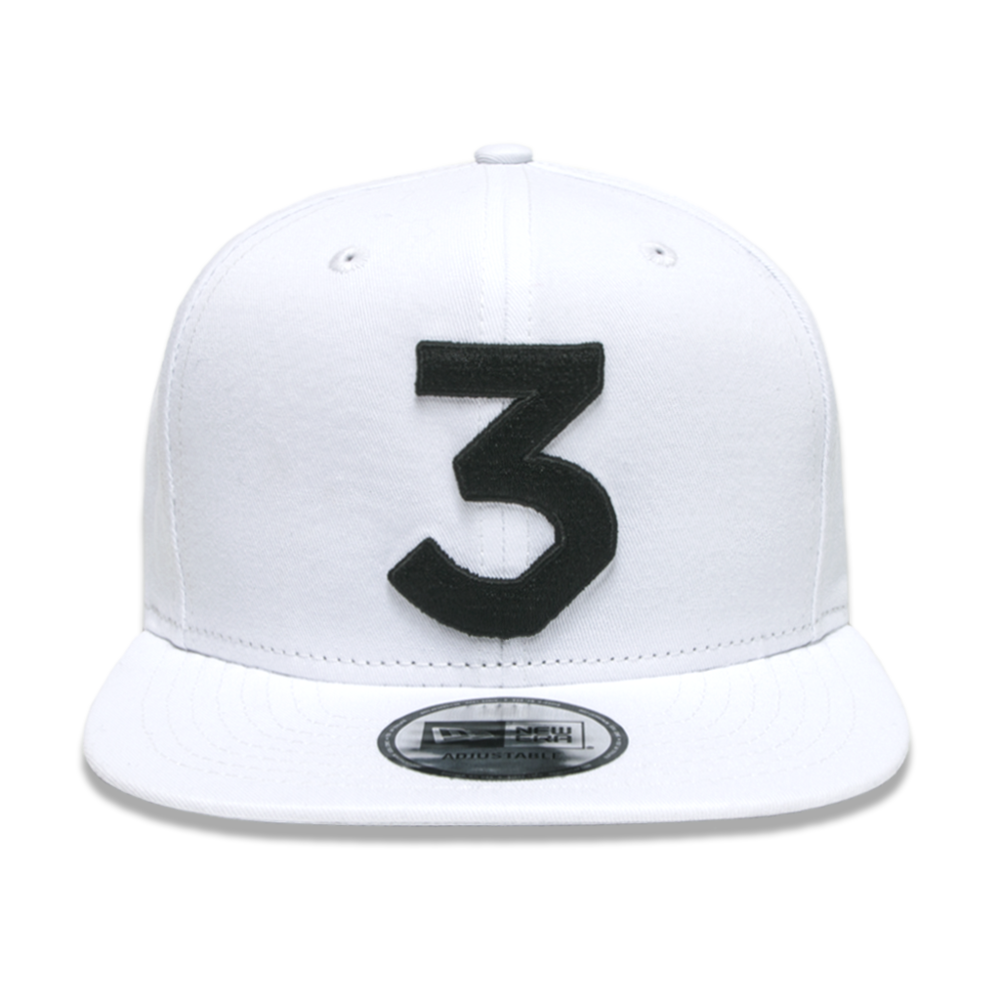 The coloring book vinyl - Chance 3 New Era Cap White