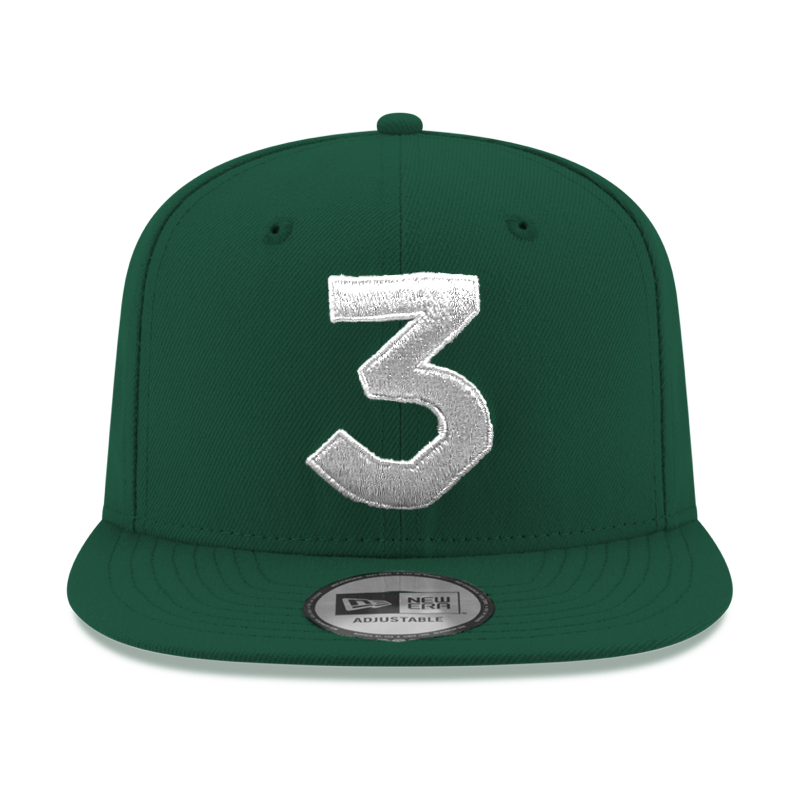 e0a785b02d7 ... fitted hat 109d7 413f5  best price chance 3 new era cap green silver  ae3c6 57a79
