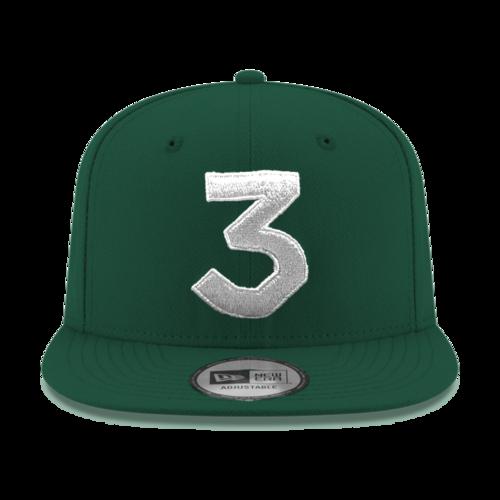 Chance 3 New Era Cap (Green   Silver) — Chance the Rapper 2fbea2c359c