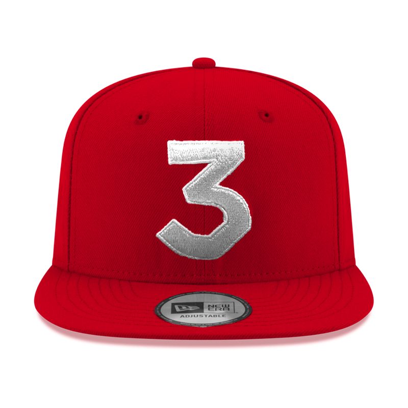 wholesale dealer 49e0a 11c73 ... norway chance 3 new era cap red silver c2938 eaa09