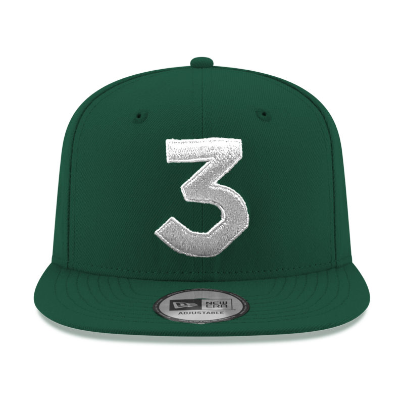 Chance 3 New Era Cap Green Silver