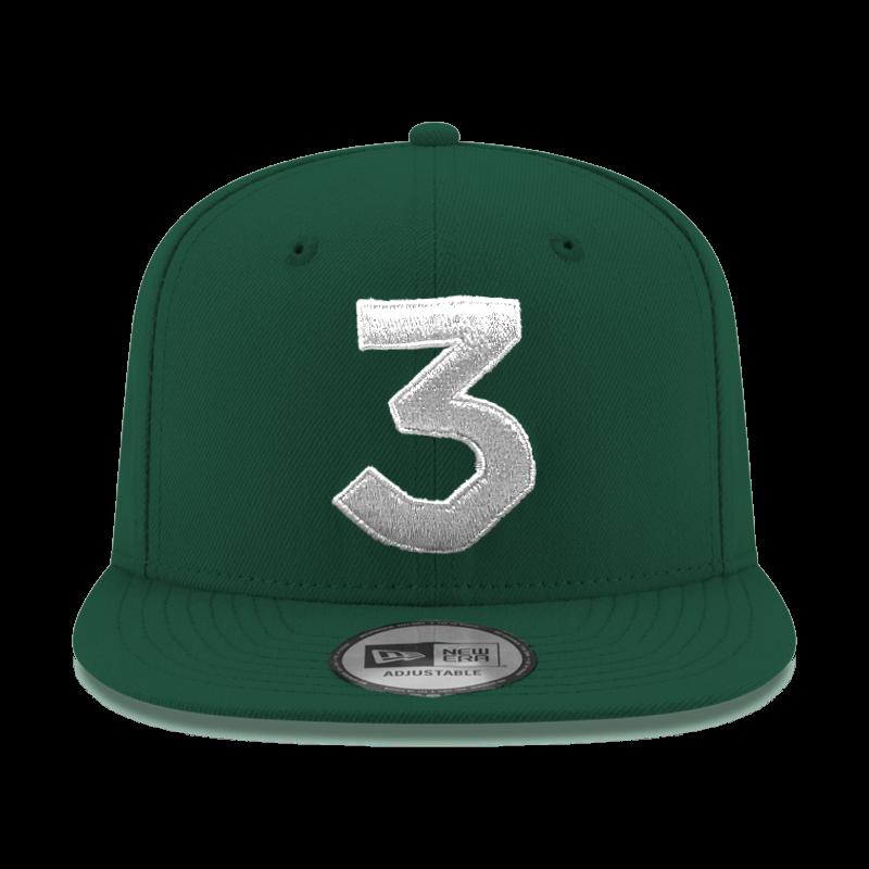size 40 97e4f 6056a ... best price chance 3 new era cap green silver 4f4c4 20cda