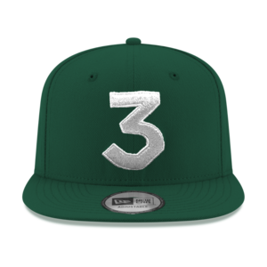 Chance 3 New Era Cap Green Silver