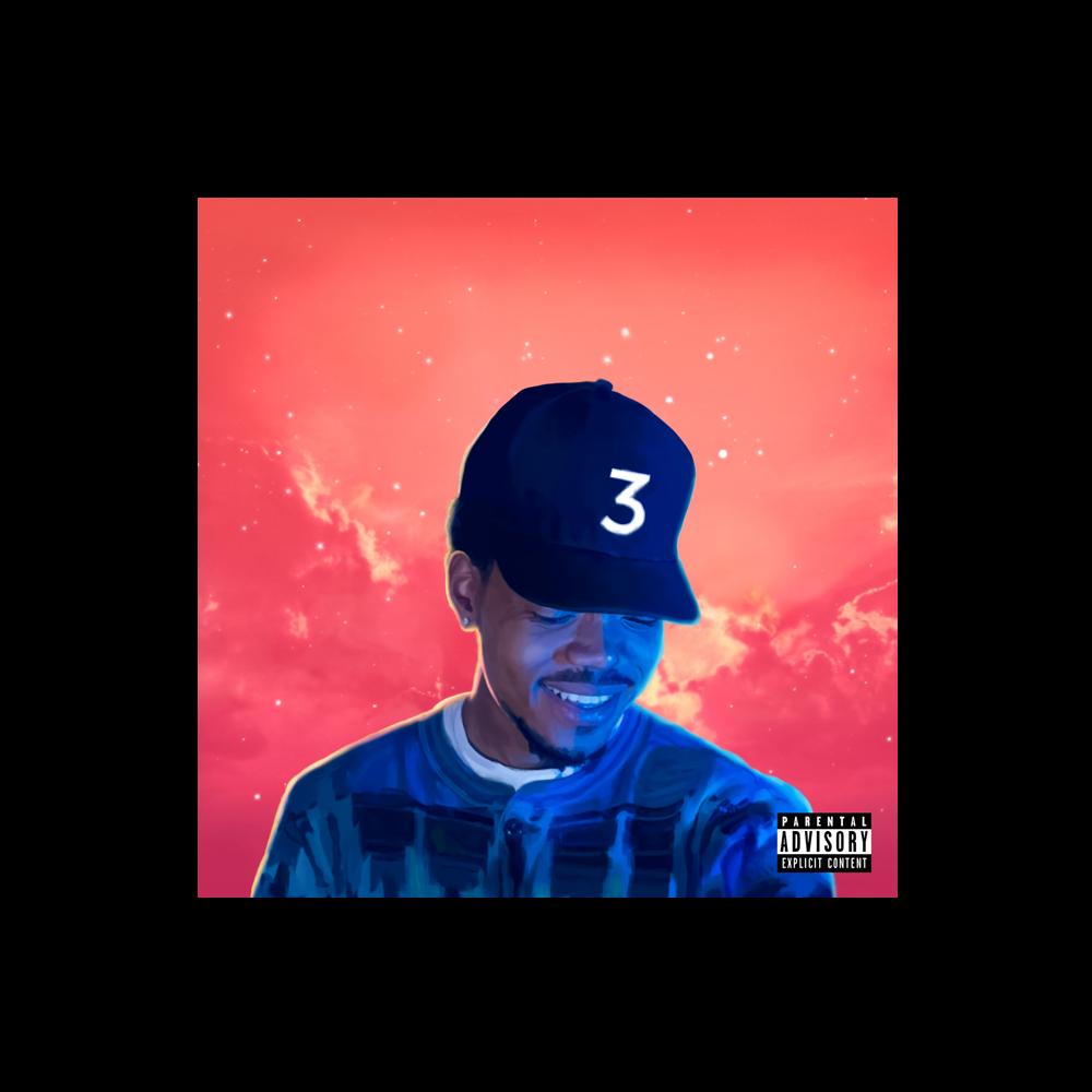 Coloring Book Poster Digital Album Chance The Rapper