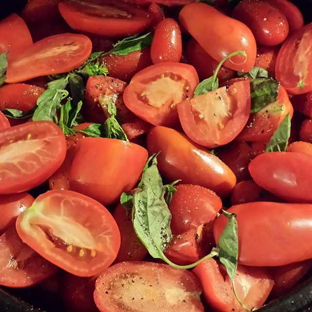 Roasted Tomato paste here we come!