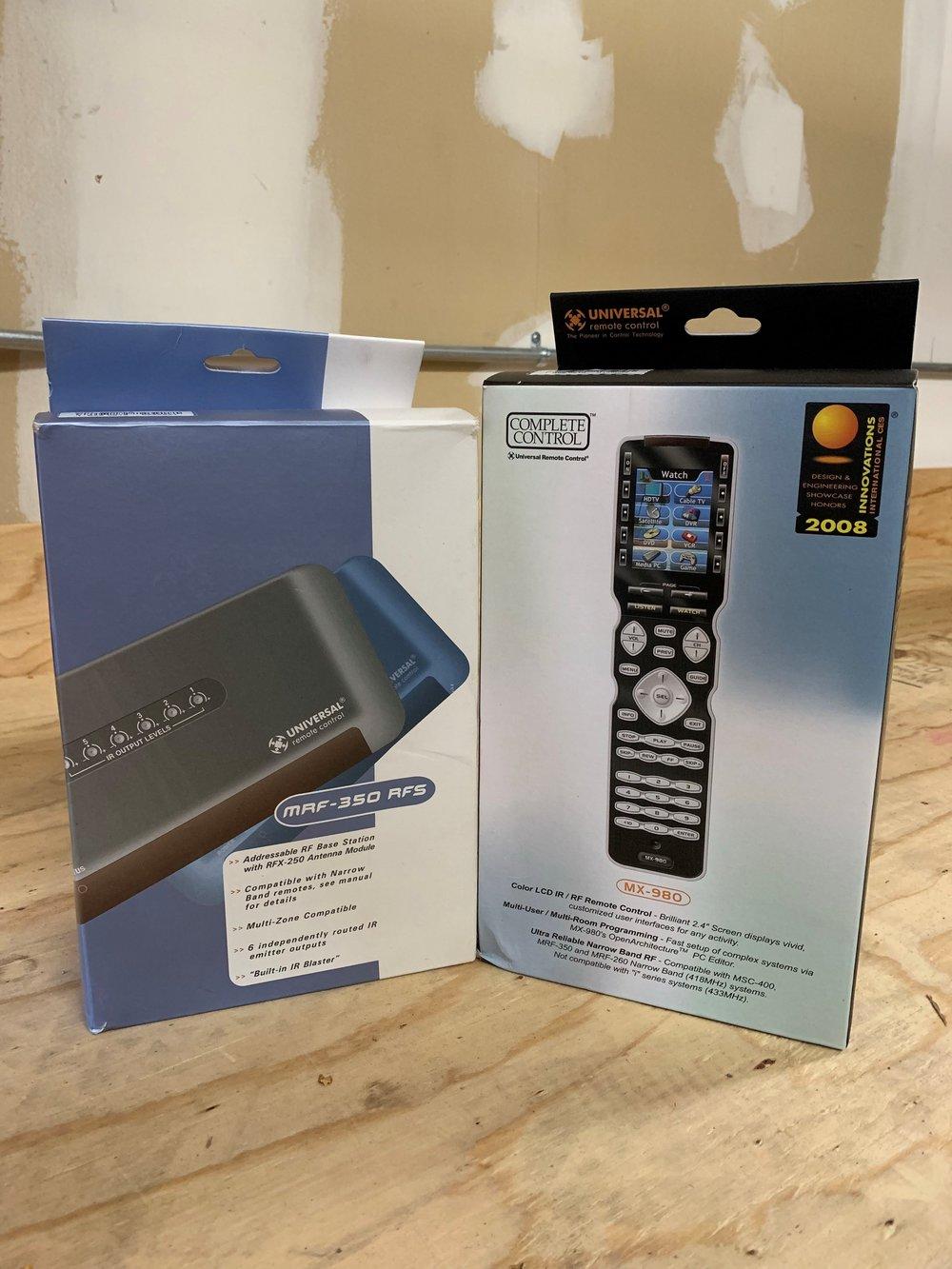 MX-980 Remote & MRF 350 set  Both new in box  $593