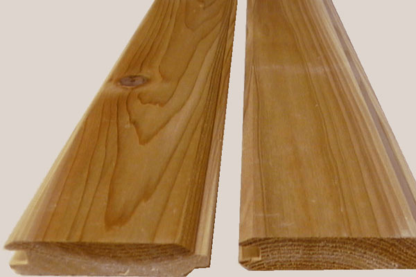 "1x4"" T&G,  Smooth Face, V-Joint Panelling"