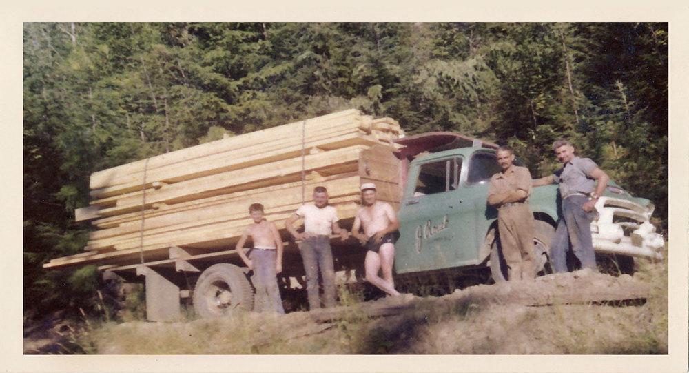 Jack Rouck Truck - Sugar Lake 1958