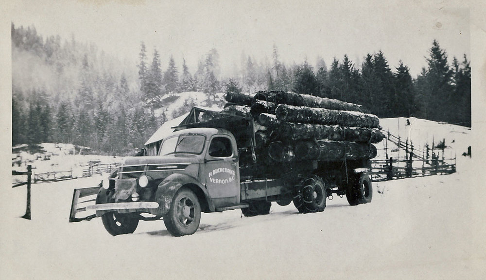 Winter Logging 1950's