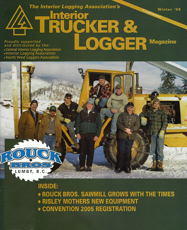 Interior Trucker & Logger Magazine - 2005