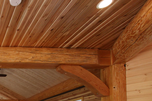 Siding paneling rouck bros log homes for E log siding